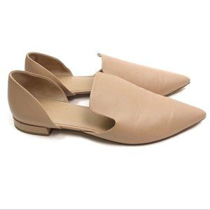 Vince Damris D'orsay Nude Flats size size 9